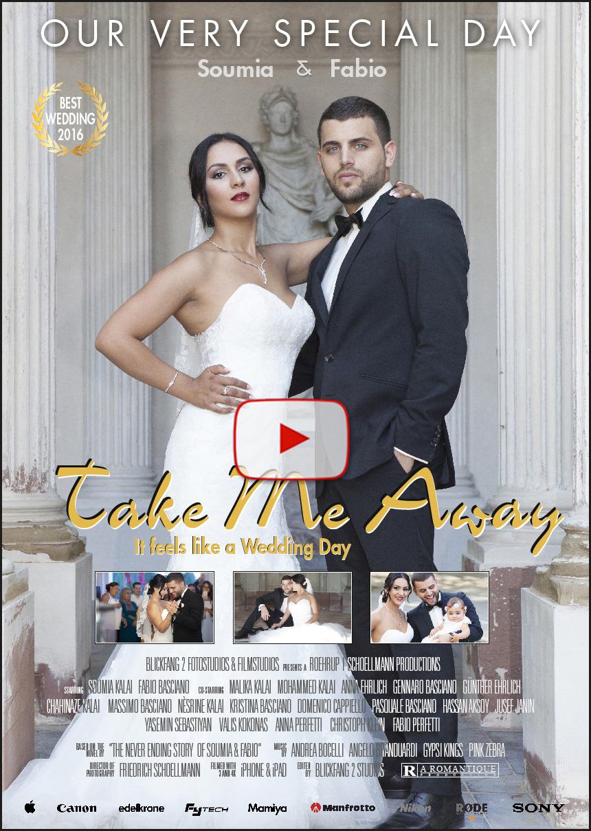 Das Filmposter zum Hochzeitsvideo @ BlickFang2 Fotostudio, Filmstudio in Weinheim und Andernach, Fotograf