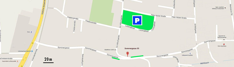 Parkplätze in Weinheim von BlickFang2 Fotostudio, Filmstudio in Weinheim und Andernach