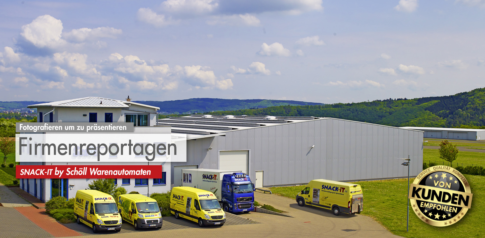 Panoramafotografie, Industriefotografie und Werbefotografie @ BlickFang2 Fotostudio, Filmstudio in Weinheim und Andernach, Fotograf