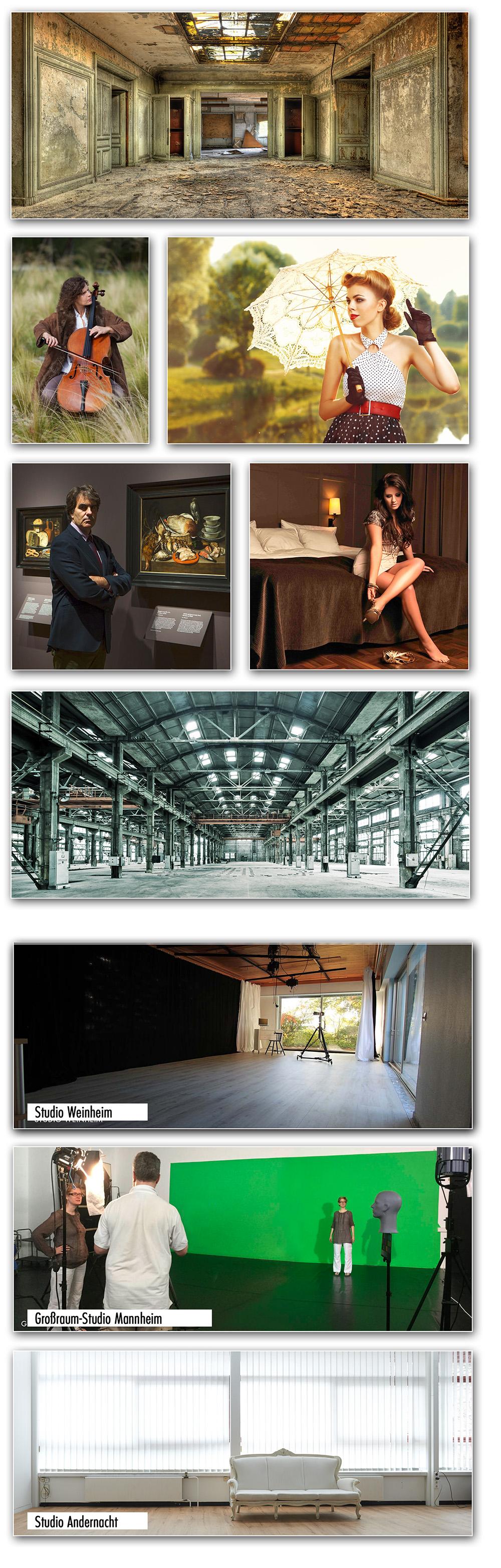 Alternative Studios @ BlickFang2 Fotostudio, Filmstudio in Weinheim und Andernach, Fotograf
